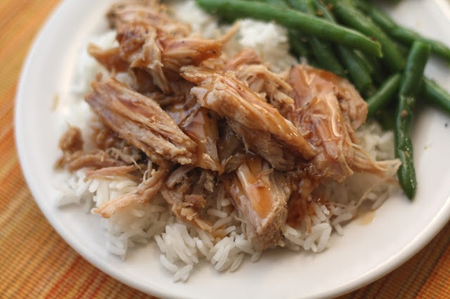 ... In The Kitchen: Slow Cooked Pork Roast with a Sweet Tangy Glaze