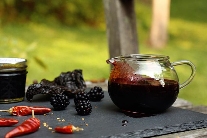 Ancho Blackberry Syrup | Canning | Pinterest