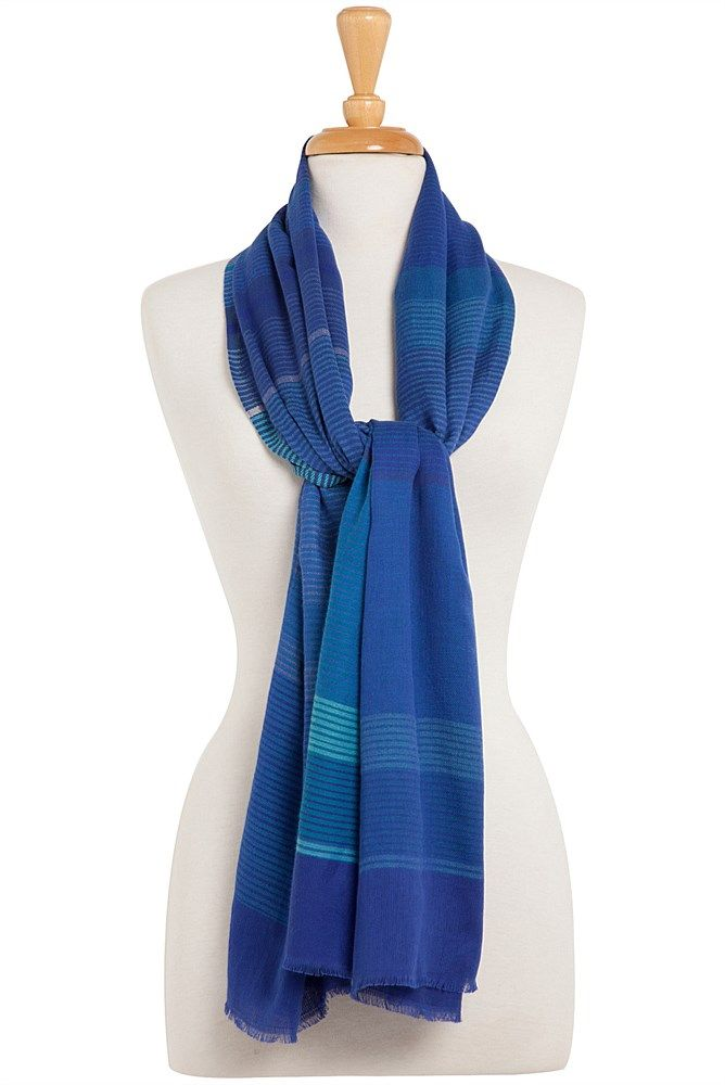 Violetta Scarf - Blue Illusion