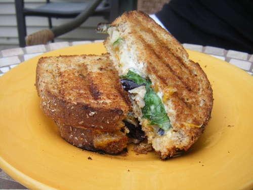 Grilled Eggplant Sandwich | Sandwich City | Pinterest