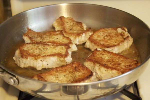 Pork Chops with Caramelized Onion & Dijon Cream Sauce | Recipe