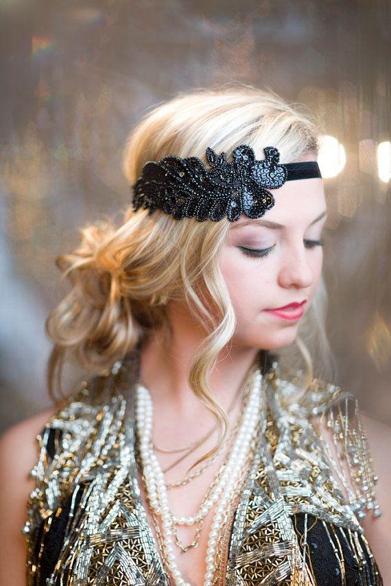 1000 Ideen zu 1920s Hair Accessories auf Pinterest