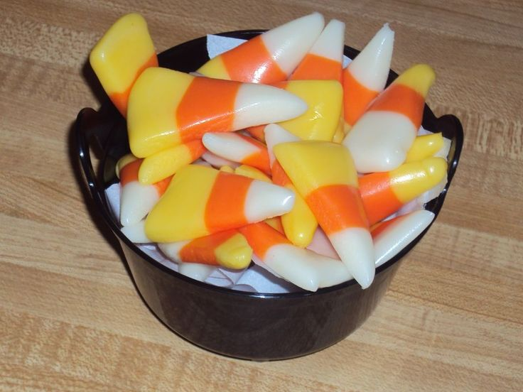 Picture of Homemade Candy Corn | gift ideas to make | Pinterest