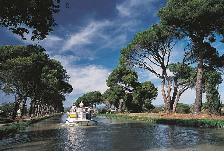 Canal Du Midi | France | Pinterest: pinterest.com/pin/129689664243334550