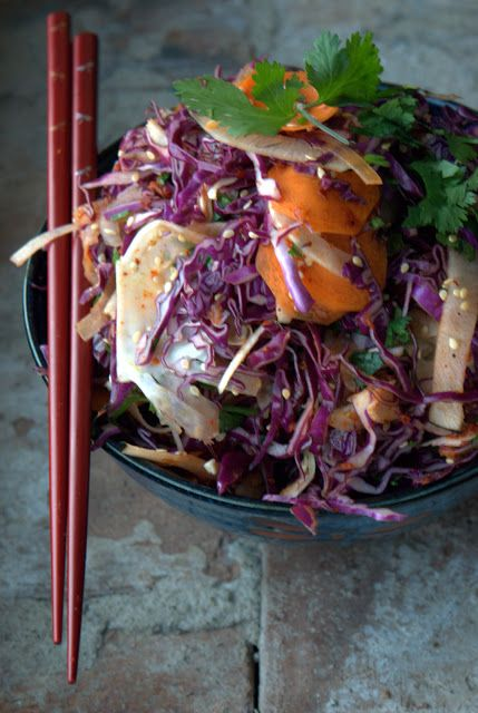 Spicy Asian Slaw...   I Heart Food Part 5...   Pinterest
