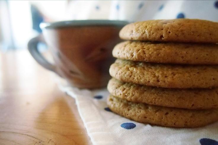 Bedrock and Brambles: Coconut Oil & Brown Sugar Cookies, by Kira