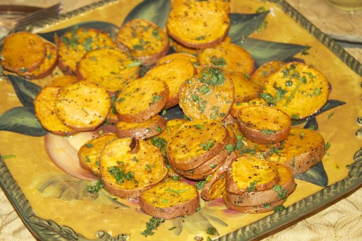 Cilantro-lime sweet potatoes, Emeril Agasse's recipie SO EASY!! delish