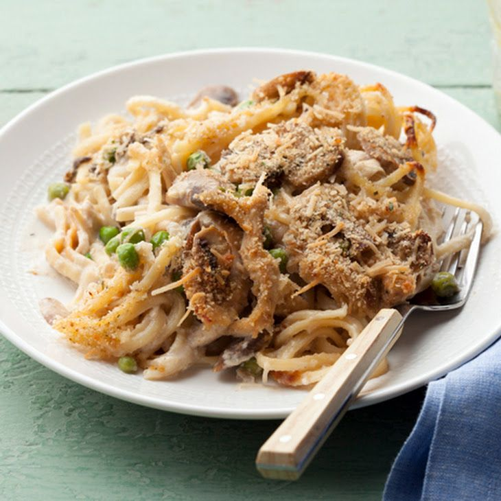 Chicken Tetrazzini Tetrazzini is an American dish often made with ...