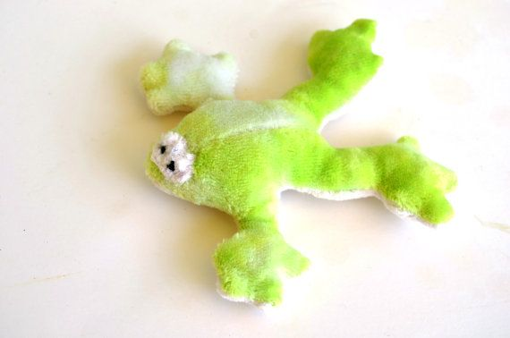 Pocket Frog Stuffed Frog Plushie by BrightLifeToys on Etsy, $15.00