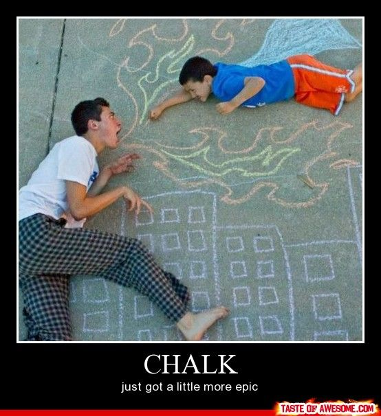 Chalk Always The Answer Fun