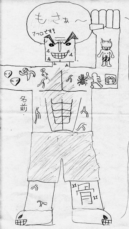 Japanese kids draw Henry Rollins... I am nearly speechless after ...