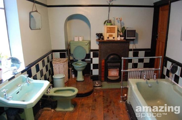 1940s bathroom upgrades pinterest for Bathroom designs 1940s