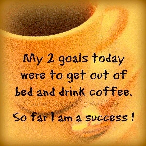 Coffee goal