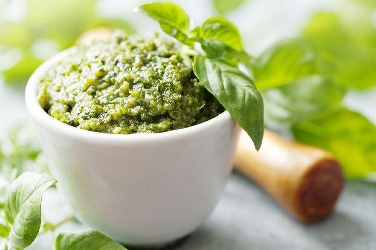 skinny spinach basil pesto the skinny fork skinny spinach basil pesto ...