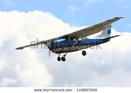 X 15 Landing WATERDOWN, ONTARIO/CANADA - AUGUST 2013: Airplane approaching landing ...