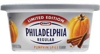 PHILADELPHIA Pumpkin Spice Cream Cheese | Holiday Food Finds | Pinter ...