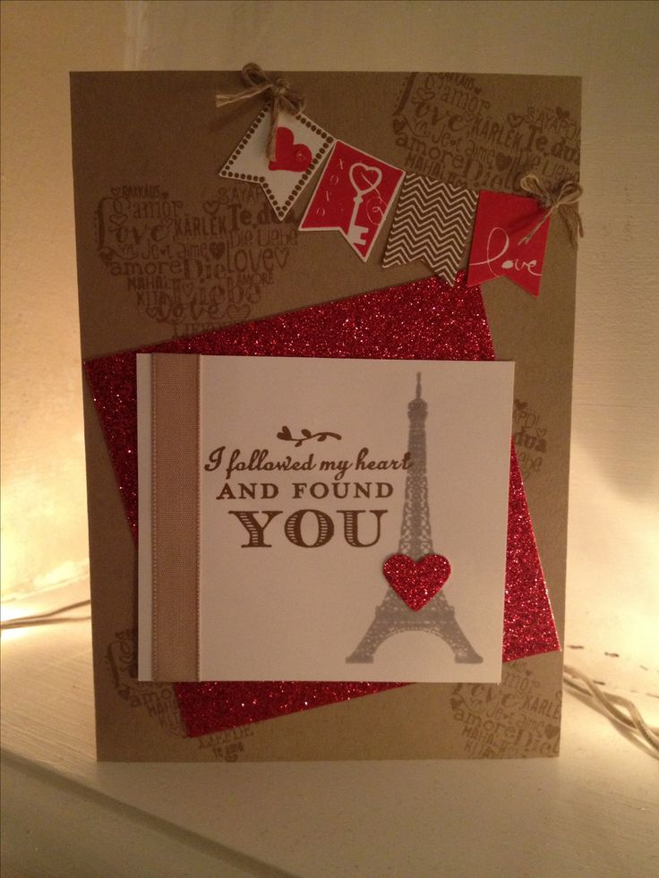 valentines day make a card
