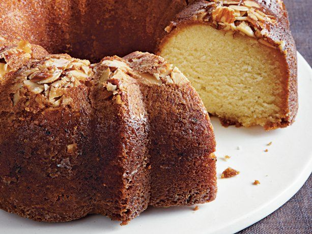 Amaretto Almond Pound Cake | Recipe