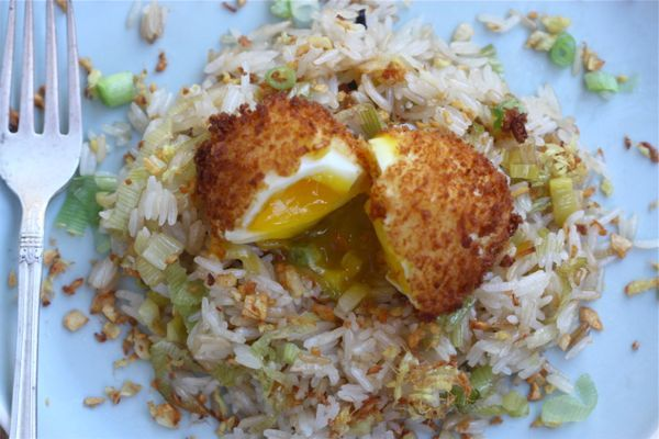 Ginger Fried Rice + 5-Minute Fried Egg ... this looks OH. SO. AMAZING!