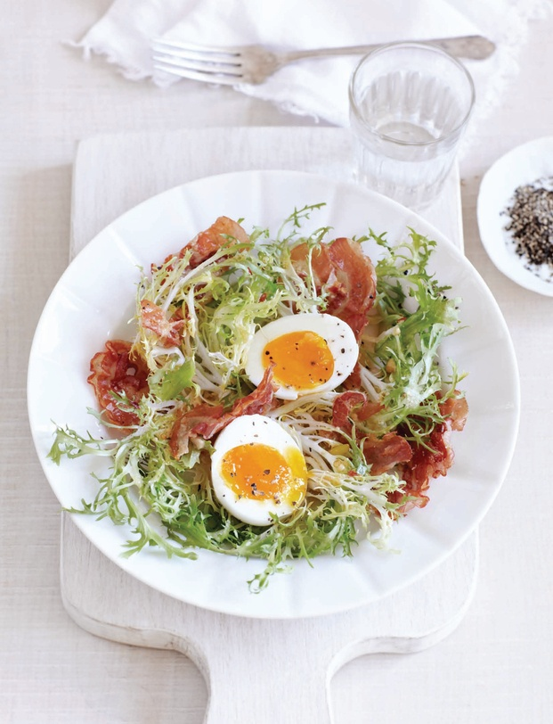 Bistro Salad with Pancetta   Favorite Recipes   Pinterest