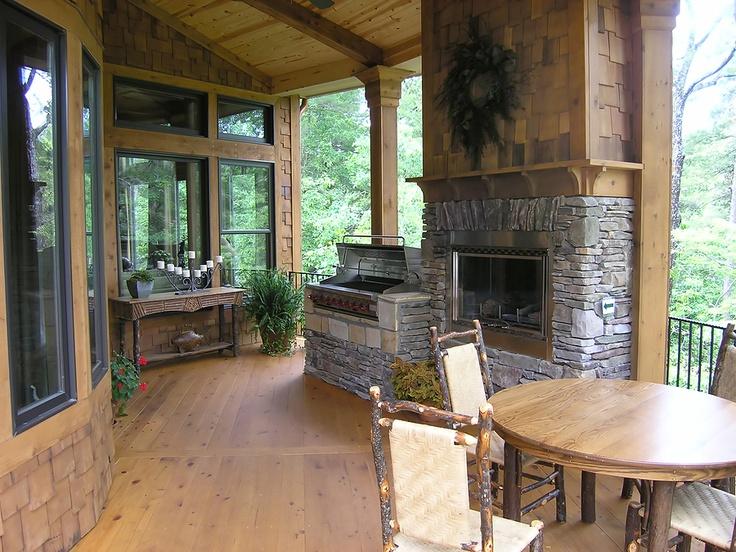 Luxury deck outdoor kitchen sunrooms and decks pinterest for Outdoor kitchen deck plans