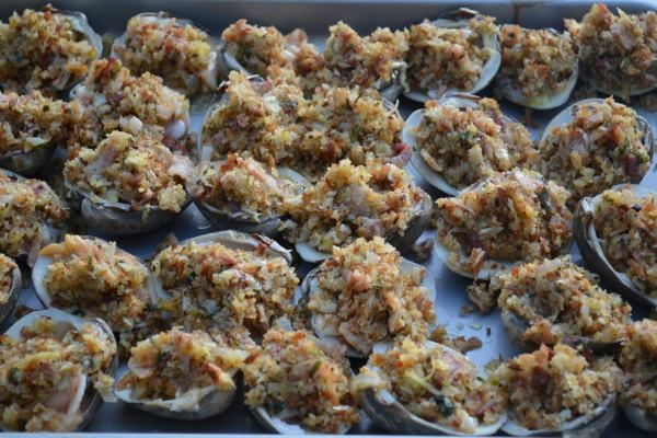 Baked Clams | Recipes from off the table | Pinterest