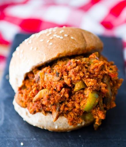 Garden Veggie Sloppy Joes (Vegan) | Vegan Eats | Pinterest