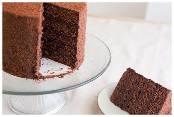 tartine's devil's food layer cake ++ matchbox kitchen {@Sara/Matchbox...