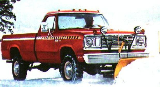 Sno Commander Cool Old Dodge Trucks Pinterest