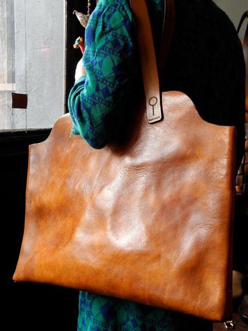 ABK leather tote YUMM