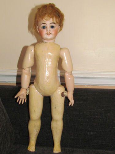Poupee ancienne tete en porcelaine poup es dolls for Vasque ancienne en porcelaine