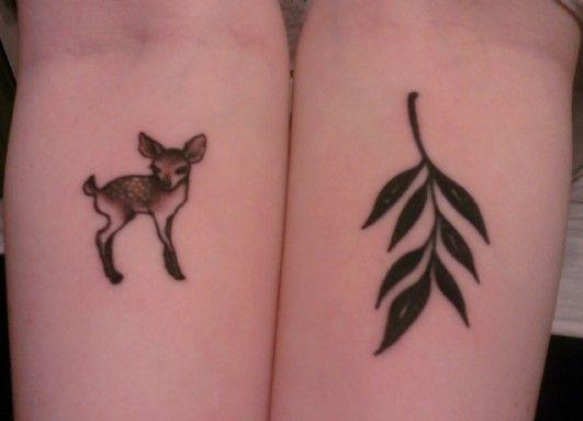 fawn design tattoos pinterest. Black Bedroom Furniture Sets. Home Design Ideas