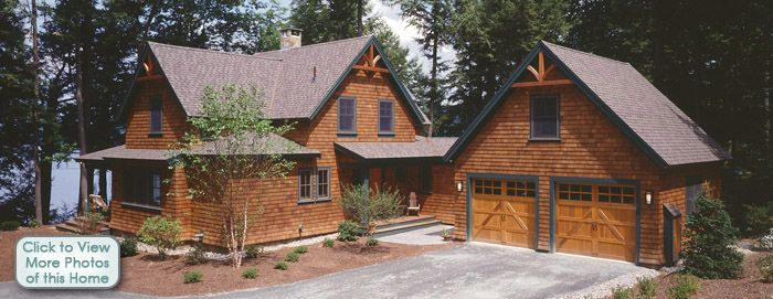 The lakewood timber frame floor plan house in the Timber frame cottage plans