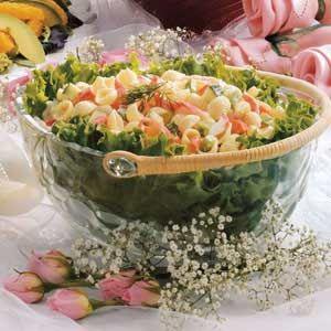 Creamy Crab Pasta Salad - thanks to my grandma for this recipe years ...