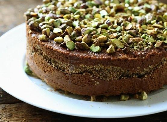 Orange blossom sesame cake | Cake recipes | Pinterest
