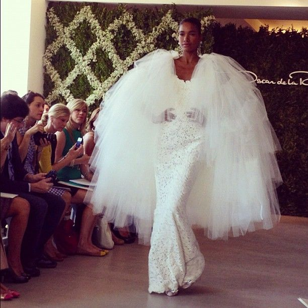 First Look: Spring 2013 Oscar de la Renta - By Aisle Say : Brides