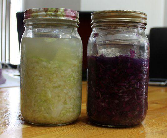 Simple Small Batch Sauerkraut | AIP Paleo | Pinterest