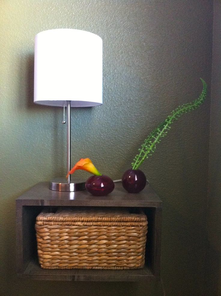 Another Floating Nightstand Decor Pinterest