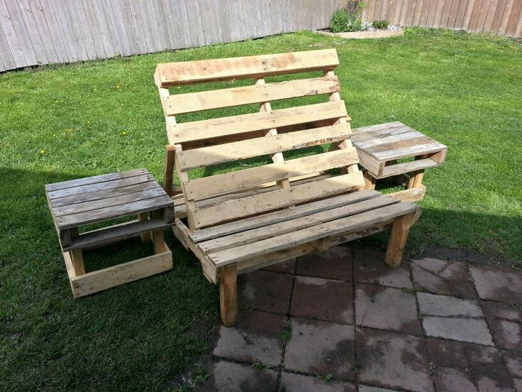 Repurposed wood pallets | Pallets | Pinterest