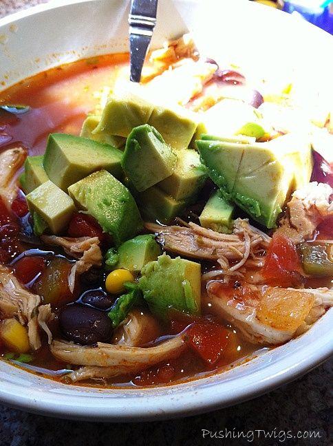Crock Pot Chicken Chili | Yum yum in my tum tum | Pinterest