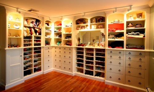 Oh you know, just another average closet.