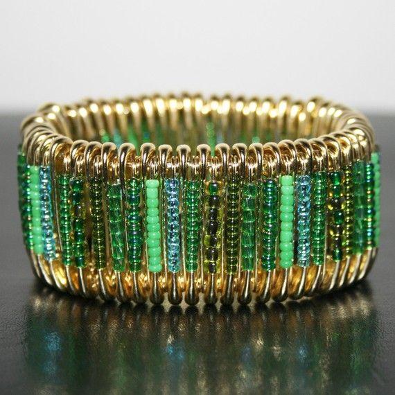 Giverny safety pin bracelet 20 00