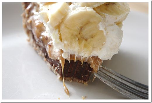 Black Bottom Banoffee Pie with a Pretzel Crust ... from Fields of Cake ...