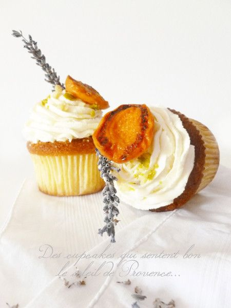 Apricot And Lavender Brown Butter Tea Cakes Recipe — Dishmaps
