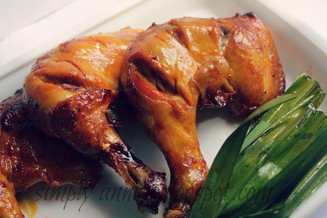 Chicken Inasal Filipino Dish   Yummy Recipes   Pinterest