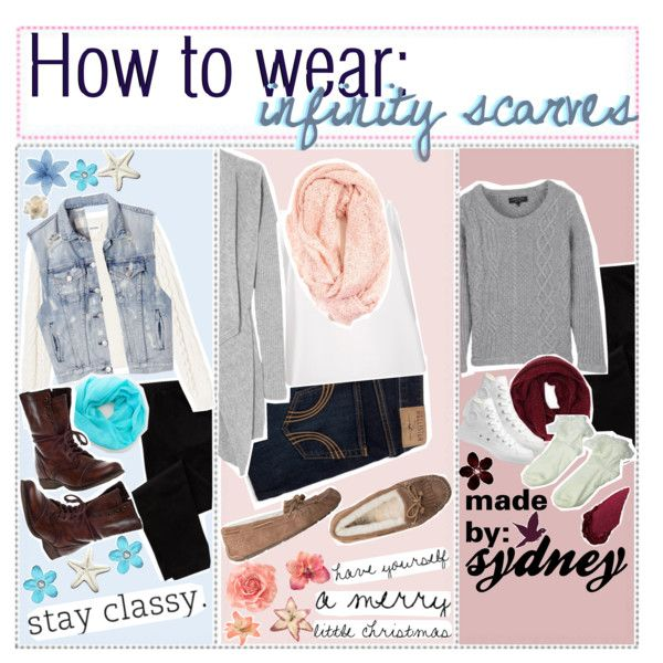 how to wear infinity scarves c How To Wear An Infinity Scarf Pinterest