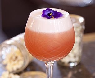 Rhubarb and Ginger Sour - Delicious summer cocktail ideal for parties ...