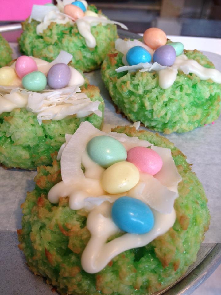 Coconut Easter Meringues | Shop Items & photos | Pinterest