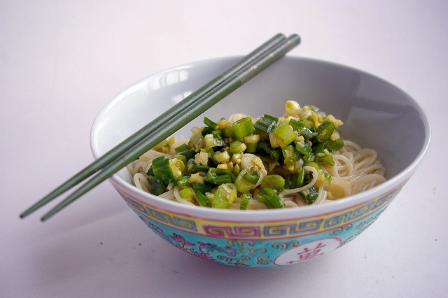 Ginger-Scallion Noodles by Patent and the Pantry, via Flickr
