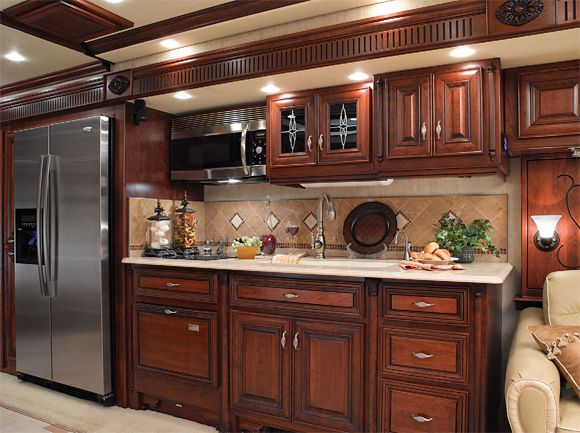 Rv Kitchen Small Kitchen Creative Design Ideas Pinterest